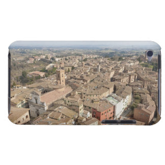 Wide shot of the hill town of Siena, Italy, Barely There iPod Case