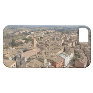 Wide shot of the hill town of Siena, Italy, iPhone 5 Cases