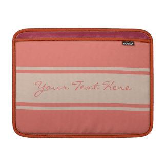 """Wide Stripes custom 13"""" MacBook sleeve"""