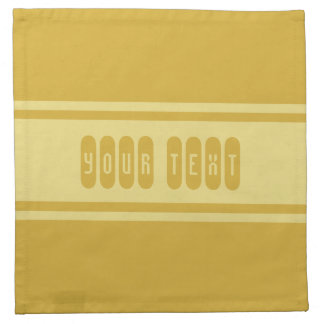 Wide Stripes custom cloth napkins