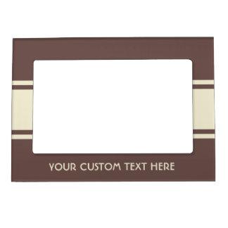 Wide Stripes custom photo frame