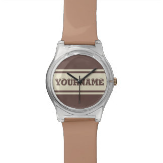 Wide Stripes custom watches