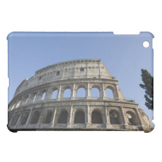 Wide view looking up at the Roman Colosseum with iPad Mini Cover
