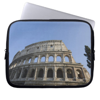 Wide view looking up at the Roman Colosseum with Laptop Sleeve