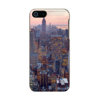Wide view of Manhattan at sunset Incipio Feather® Shine iPhone 5 Case