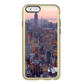 Wide view of Manhattan at sunset Incipio Feather® Shine iPhone 6 Case