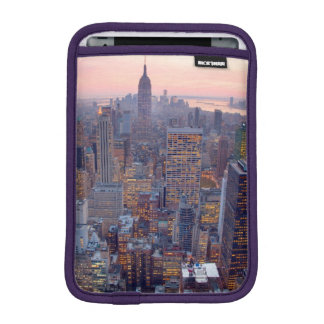 Wide view of Manhattan at sunset Sleeve For iPad Mini