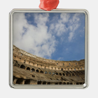 wide view of the interior of the Colosseum Christmas Ornament