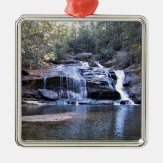 Wide Waterfall Christmas Tree Ornaments
