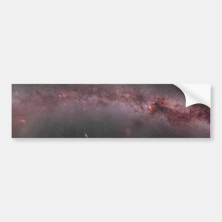 Widefield Milky Way Galaxy Composite Panorama Bumper Sticker