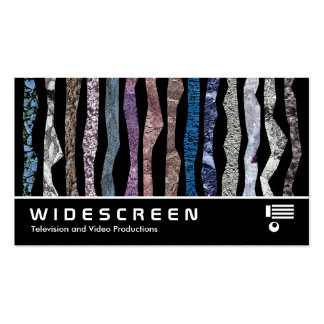 Widescreen 0425 - Mineral Stripes Pack Of Standard Business Cards