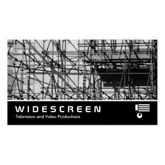Widescreen 0471 - Scaffolding Pack Of Standard Business Cards