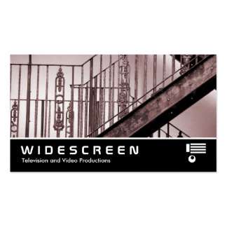 Widescreen 213 - Victorian Fire Escape Pack Of Standard Business Cards
