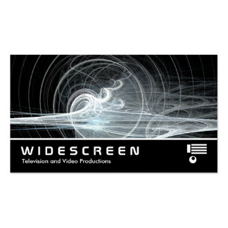 Widescreen 300 - Fractal Swirl Pack Of Standard Business Cards