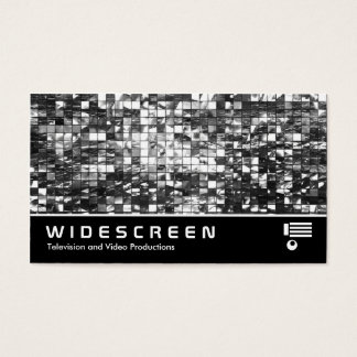 Widescreen 406 - Abstract Mosaic Business Card