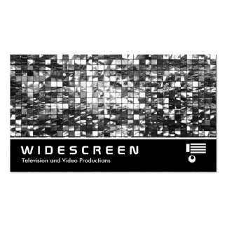 Widescreen 406 - Abstract Mosaic Pack Of Standard Business Cards