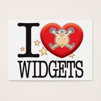 Widgets Love Man Business Card