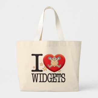 Widgets Love Man Jumbo Tote Bag