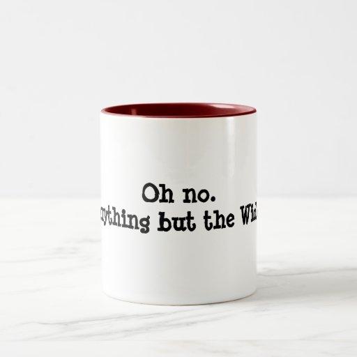 Widor organist's mug