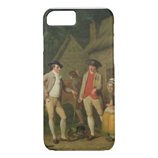 Widow Costard's Cow and Goods, Distrained for Taxe iPhone 7 Case