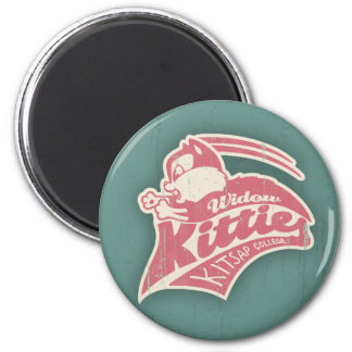 Widow Kitties Team Logo Fridge Magnets