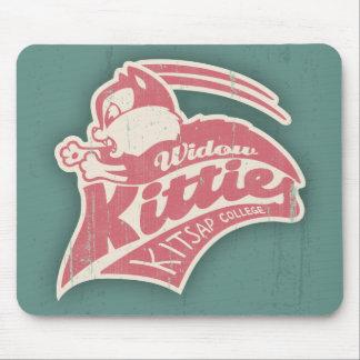 Widow Kitties Team Logo Mouse Pad