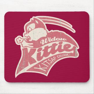 Widow Kitties Team Logo Mousepad