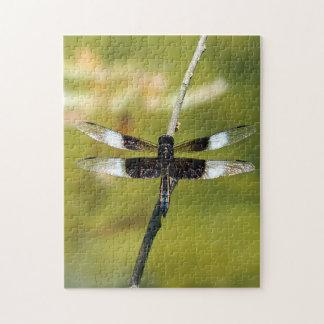 Widow Skimmer Dragonfly Puzzle