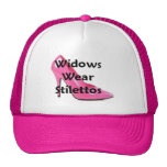 Widows Wear Stilettos Official Logo Mesh Hat