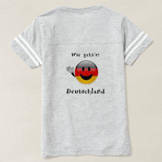 wie geht's Deutschland t-shirt women