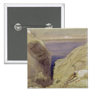 Wied Zurrik, Malta, 10 am, 11th March (w/c, pen, b 15 Cm Square Badge