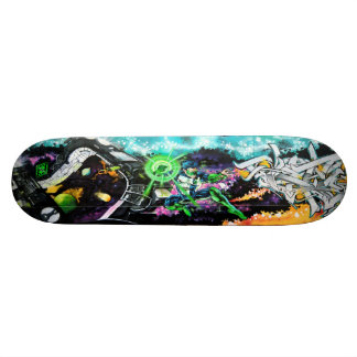 Wielder of the Emerald Powers - Streetart Sk8 Deck 20.6 Cm Skateboard Deck
