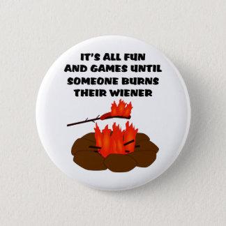 Wiener Burn 6 Cm Round Badge