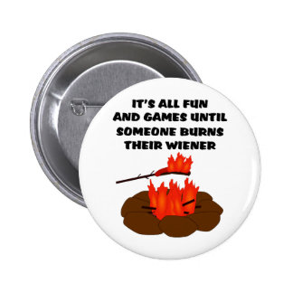 Wiener Burn 6 Cm Round Badge