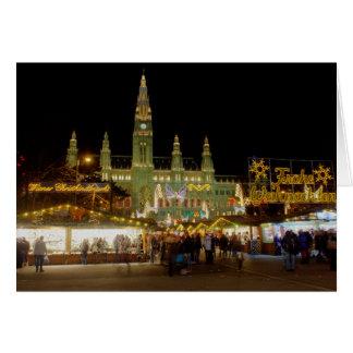 Wiener Christkindlmarkt Greeting Card