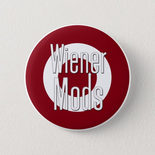 Wiener Mods 6 Cm Round Badge