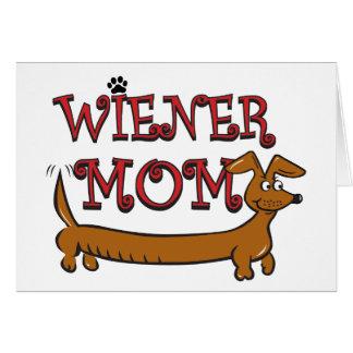 Wiener Mom Oktoberfest Card