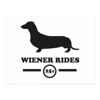 Wiener Rides Postcard