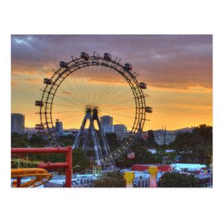 Wiener Riesenrad Postcard