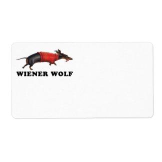 Wiener Wolf Book Plate