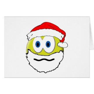 Wierd Santa Greeting Card