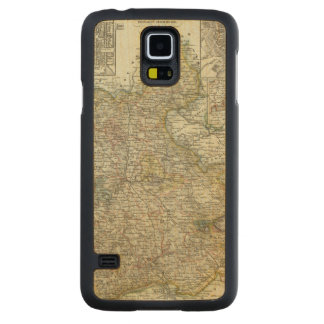 Wiesbaden and Frankfurt Germany Carved Maple Galaxy S5 Case