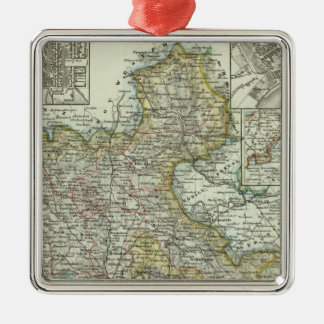 Wiesbaden and Frankfurt Germany Christmas Ornament