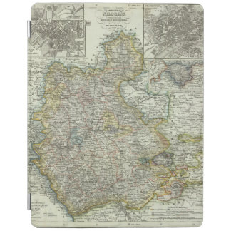 Wiesbaden and Frankfurt Germany iPad Cover