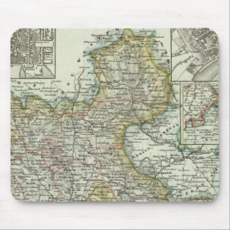Wiesbaden and Frankfurt Germany Mouse Pad