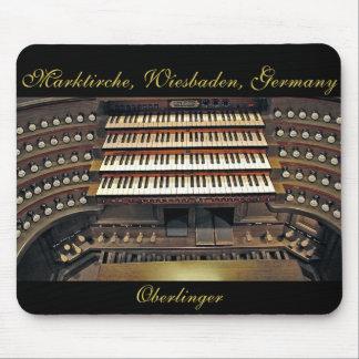Wiesbaden organ mousepad
