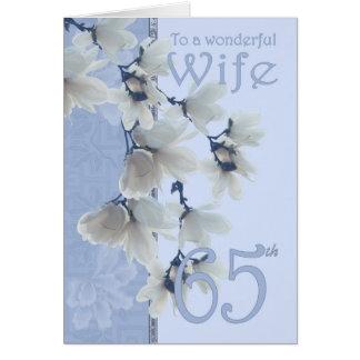 Wife 65 Birthday - Birthday Card Wife