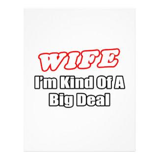 Wife...Big Deal Flyer
