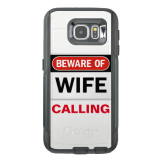 Wife Calling Cell Phone Case