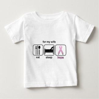 Wife Eat Sleep Hope - Breast Cancer Tees